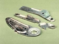 Sicherheitsautomobilbeschläge, hergestellt im integralen Feinschneidsystem