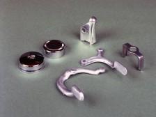 Aluminium Kaltfließpressteile hergestellt mit hydraulischen Pressen