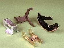 Schaltgabeln und Bremsbacken