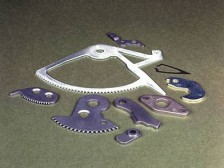 Feinschneidteile, geschnitten mit dem Integralemfeinschneidsystem, entwickelt bei WANZKE