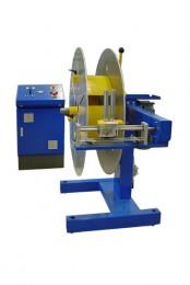 Aufspulhaspel zum Aufspulen und Abspulen mit mechanischer Verlegeeinrichtung, einstellbare Steigung, Stufenlos regelbar und Direktantrieb.