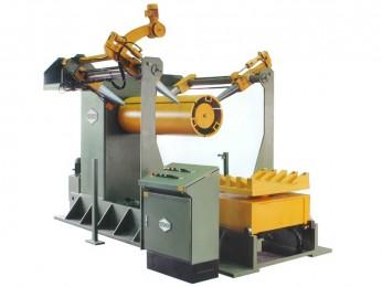 A-PMS  Auf- und Abwickelhaspel, ausgerüstet für Großcoils bis Coilgewicht 25 t, Außendurchmesser bis 2000 mm,  Coilbreiten bis 2000 mm. Auch jede Sonderausführung